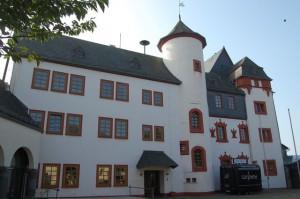 Dammstarße Mengerskirchen Hessen Deutschland