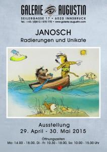 Plakat Janosch Innsbruck 2015 EV